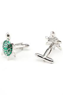 Запонки черепашка Churchill accessories