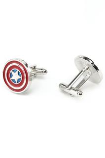Запонки Капитан Америка Churchill accessories