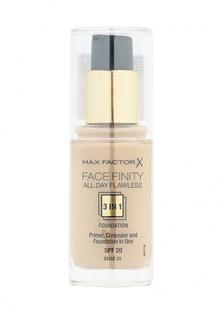 Основа Max Factor Тональная Facefinity All Day Flawless 3-in-1  55 тон beige