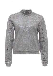 Свитшот Lost Ink IRIDESCENT METALLIC LACE DETAIL SWEAT