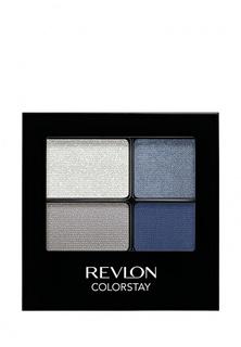 Тени для век Revlon Четырехцветные Colorstay Eye16 Hour Eye Shadow Quad Passionate 528