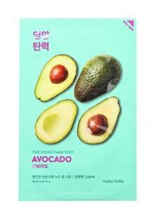 Маска Holika Holika тканевая Смягчающая Pure Essence авокадо