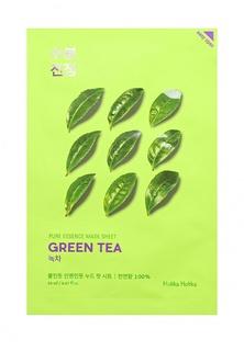 Маска Holika Holika тканевая Противовоспалительная Pure Essence зеленый чай