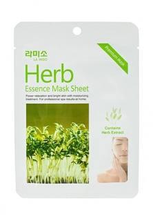 Набор масок La Miso с экстрактом Лечебных трав, 4 шт