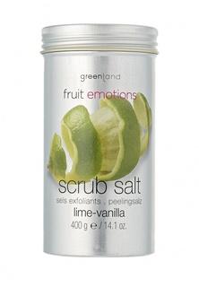 Скраб-соль Greenland лайм-ваниль