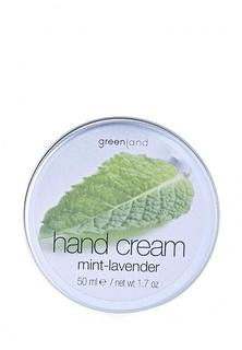 Крем для рук Greenland мята-лаванда