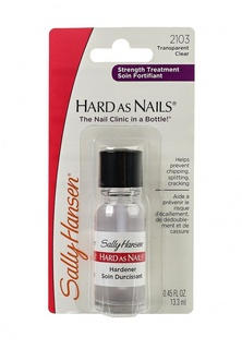 Средство Sally Hansen Nailcare для укрепления ногтей hard as nails helps strengthen nails clear