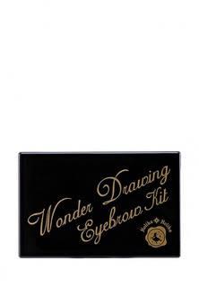 Набор Holika Holika теней для бровей оттенок 01 темно-коричневый