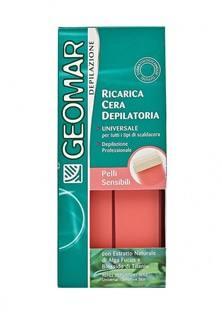 Воск Geomar сменный для удаления волос для чувствительной кожи 100 мл