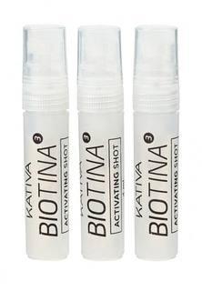 Концентрат Kativa BIOTINA против выпадения волос в ампулах, 3 по 4 мл