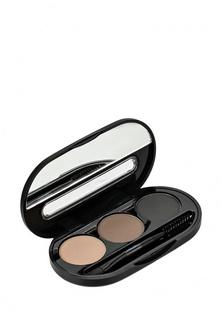 Набор Nouba теней для бровей Eyebrow Powder Kit 01 8г