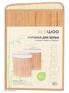 Корзины для белья Ecowoo