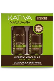 Набор: кондиционер, шампунь Kativa