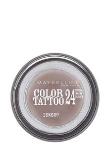 """Тени Maybelline New York для век """"Color Tattoo 24 часа"""" оттенок 40 Долговечный коричневый 4 мл"""