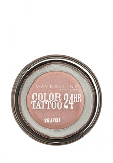 """Тени Maybelline New York для век """"Color Tattoo 24 часа"""" оттенок 65 Розовое золото 3,5 мл"""