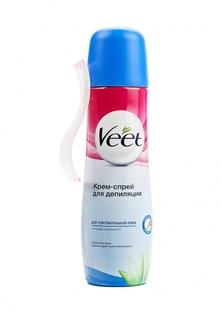 Средства для эпиляции Veet для депиляции для чувствительной кожи, 150 мл для депиляции для чувствительной кожи, 150 мл
