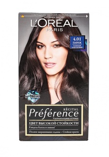 Краска для волос LOreal Paris Preference  4.01 Париж