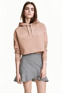 Короткое худи H&M