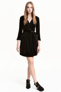 Платье на запахе H&M