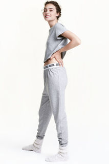 Пижама, топ и брюки H&M