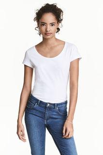 Трикотажная футболка H&M