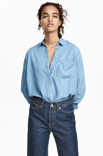 Рубашка из лиоцелла H&M