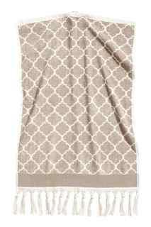 Жаккардовое полотенце H&M