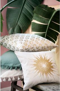Чехол на подушку с солнцем H&M