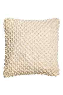 Вязаный чехол на подушку  H&M