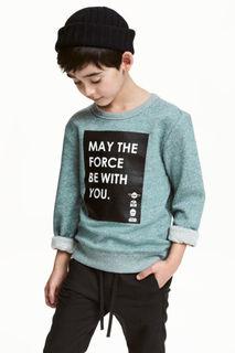 Свитшот с принтом H&M