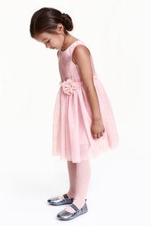 Платье из тюля с блестками H&M