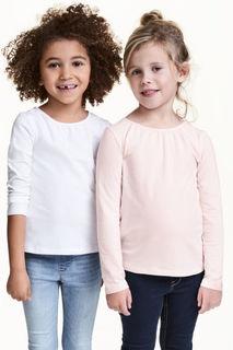 2 футболки с длинным рукавом H&M