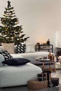 Блестящий чехол на подушку H&M