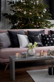Чехол на подушку с бисером H&M