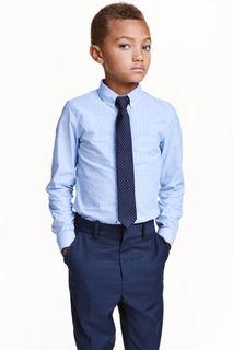 Рубашка с бабочкой/галстуком H&M