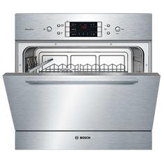 Встраиваемая компактная посудомоечная машина Bosch