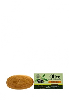 Мыло Herbolive Оливковое с экзотическими фруктами, 90 гр