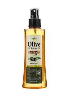 Масло Herbolive для волос от секущихся кончиков, 150 мл