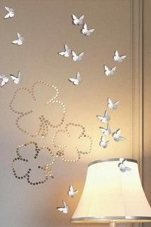 Бабочки, зеркальная мозаика Lumacolor
