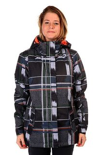 Куртка женская Roxy Jetty Swing Dots Plaid Ant