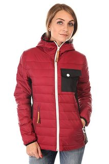 Пуховик женский Colour Wear Cub Jacket Burgundy Clwr