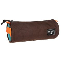 Пенал детский Billabong Barrel Pencil Case Chocolate