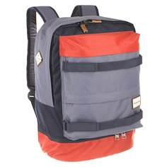 Рюкзак спортивный Quiksilver Twin Backpack Barn Red
