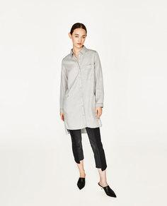 Платье-рубашка join life Zara
