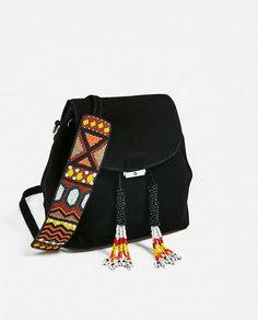 Замшевый рюкзак Zara