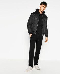 Комбинированная куртка Zara