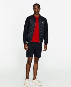 Легкая стеганая куртка-бомбер Zara