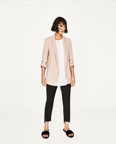 Длинный пиджак Zara