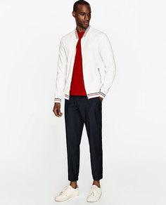 Куртка-бомбер легкая Zara