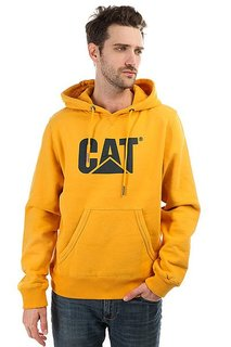 Толстовка Кенгуру Caterpillar Design Mark Hoodie Yellow